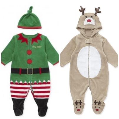 ropa navideña bebes