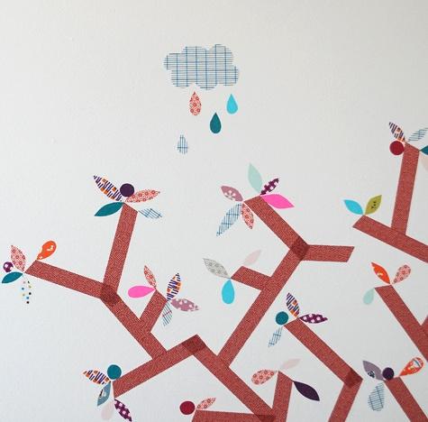 Con el washi tape podemos hacer decoraciones monísimas