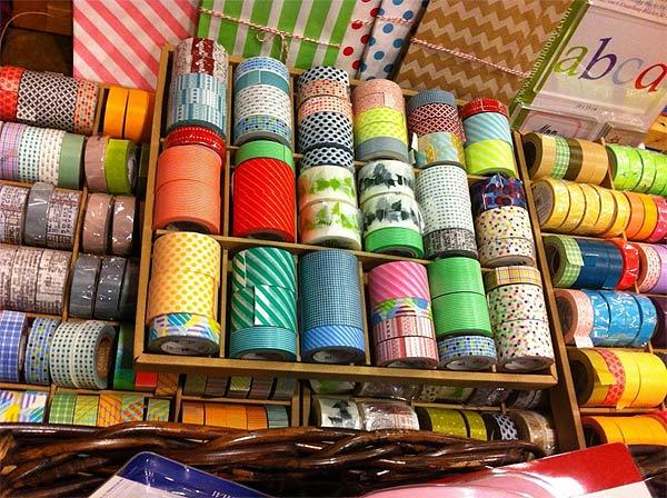 La variedad de washi tape es infinita