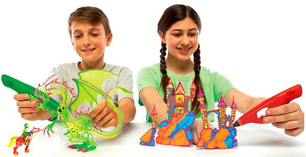 boligrafos 3d para niños