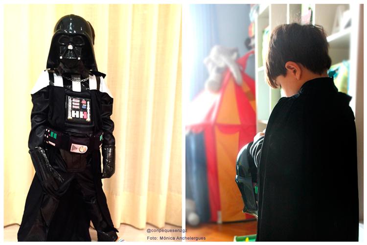Disfraz Darth Vader para niño
