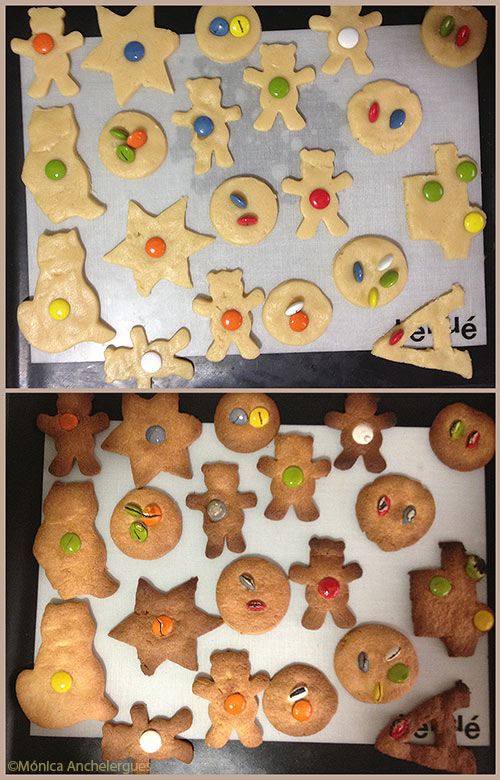 receta de galletas con mantequilla