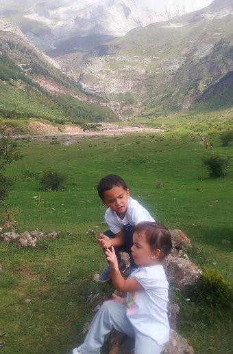 excursiones en el pirineo con niños