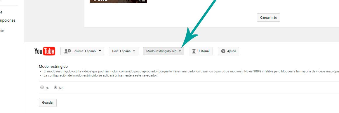 bloqueando youtube