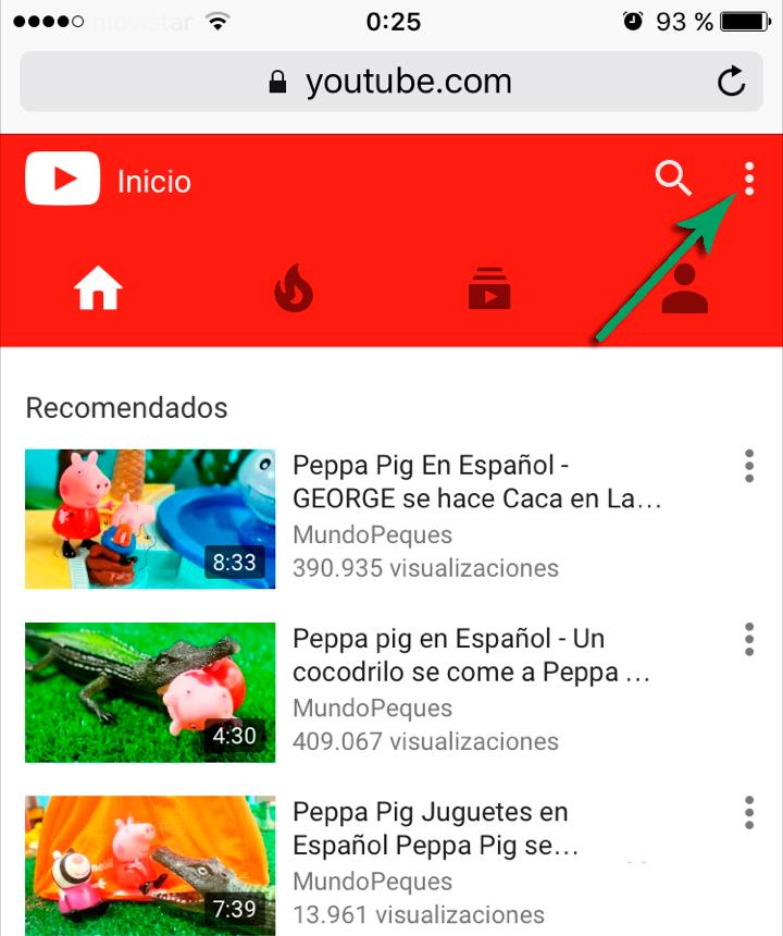 Peppa vídeos