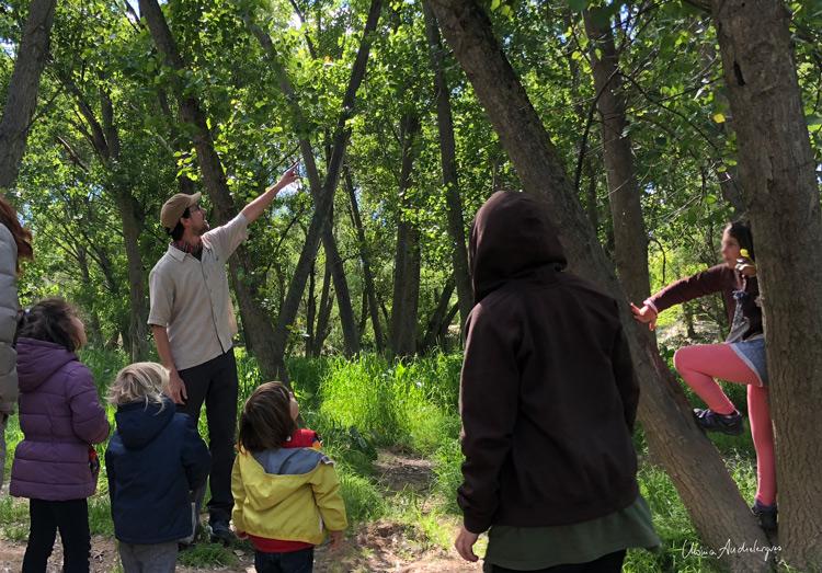 visita medioambiental en el Ebro