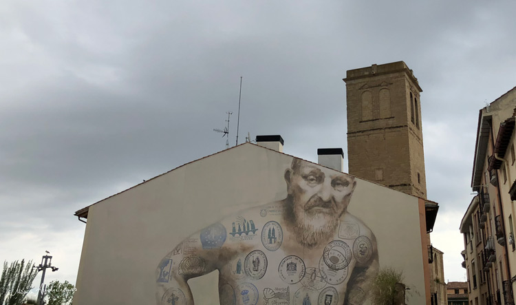 graffiti en Logroño