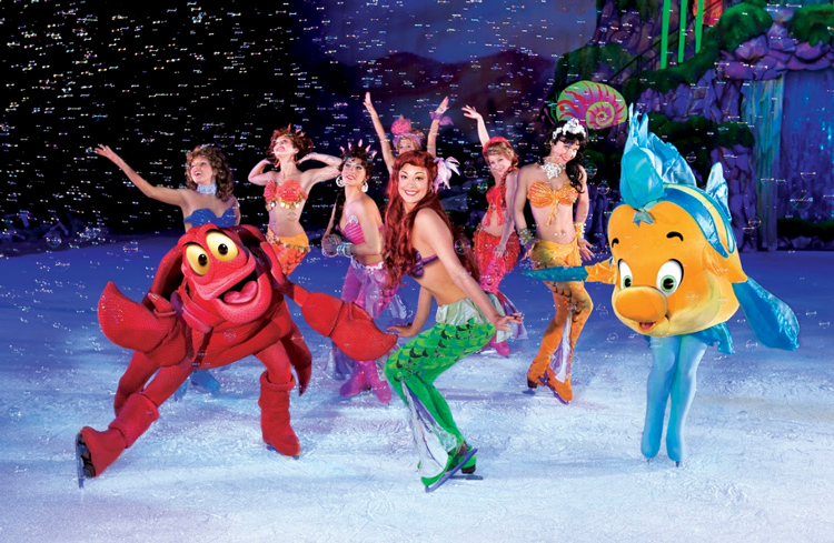ariel disney on ice