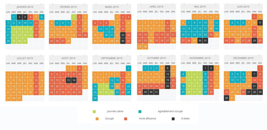 afluencia prevista a disneyland paris 2019