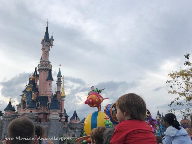 el castillo de disneyland