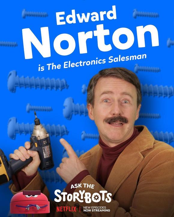 ed norton storybots