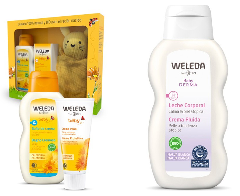 productos naturales para el cuidado del bebé